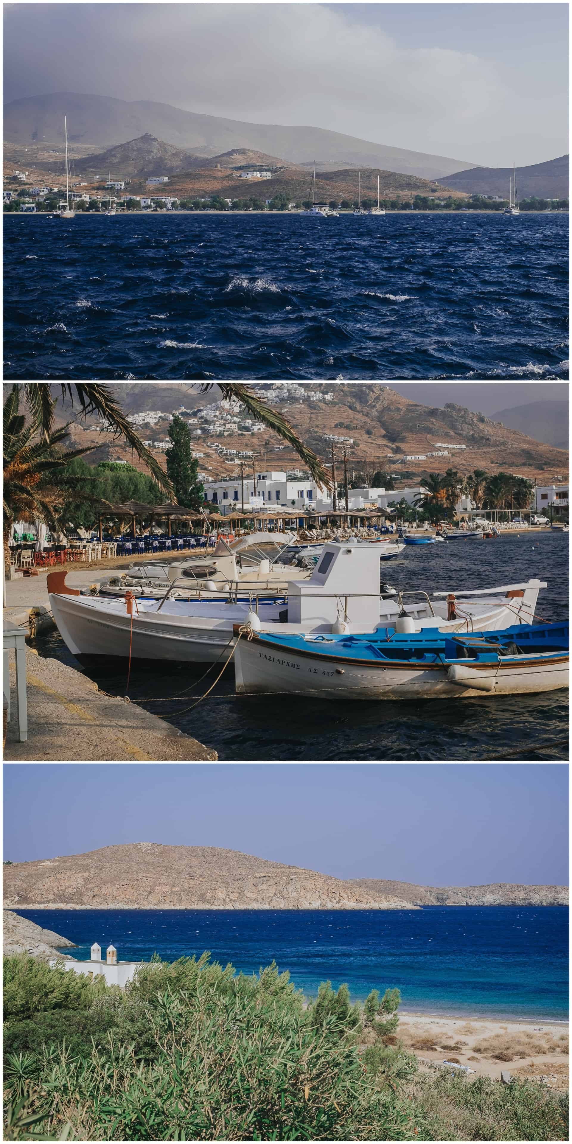 Impressions from Serifos, Greece